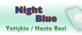 NİGHT BLUE HASTA BEZİ L